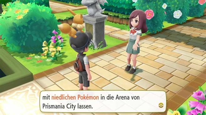 Pokémon – Let's Go: Zugang zu den Arenen©COMPUTER BILD SPIELE / Nintendo
