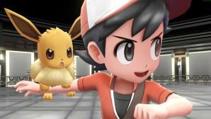 Pokémon – Let's Go: Treffen der Spielergenerationen Das erste waschechte Pokémon-Spiel für die Switch erscheint in zwei Versionen, die sich in Starter-Monster (hier Evoli), Protagonist und Verteilung einiger Pokémon-Arten unterscheiden.©COMPUTER BILD SPIELE / Nintendo