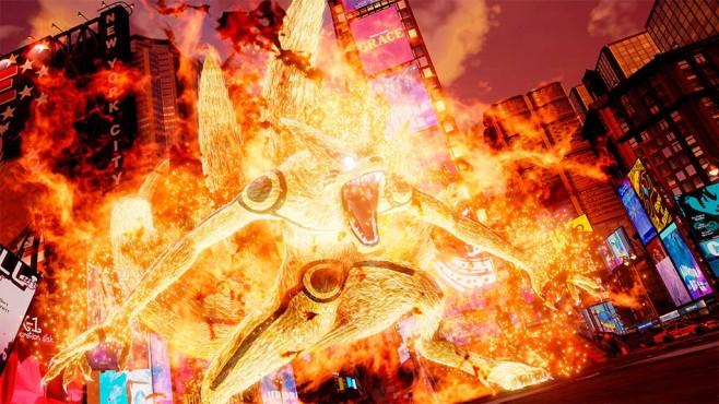 Jump Force: Naruto in seiner Kyuubi-Form©Bandai Namco