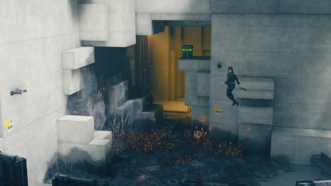 Control: Termin, Trailer, angespielt – alle Infos! Control: Jesse erlernt im Spielverlauf verschiedene Fähigkeiten – so auch Schweben.©505 Games