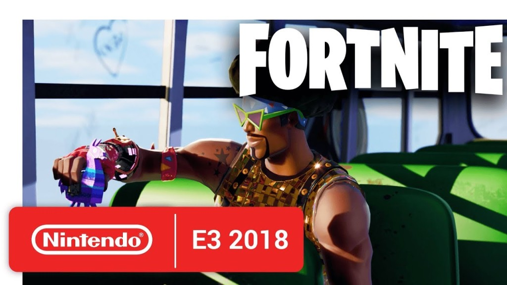 Fortnite Trailer Von Der Switch Version Computer Bild