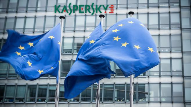 EU-Flaggen©inakiantonana/iStock, Kaspersky Lab