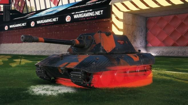 World of Tanks: Endlich wieder Panzerfußball! World of Tanks: Pünktlich zum WM-Start kehrt der beliebte Fußballmodus zurück.©wargaming.net