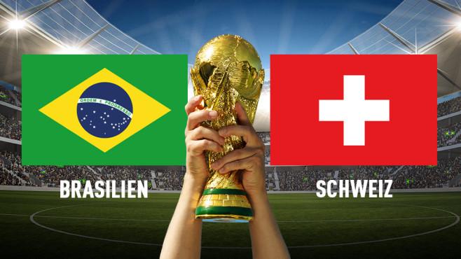 WM 2018: Brasilien – Schweiz©iStock.com/jcamilobernal, KB3 - Fotolia.com, iStock.com/VanReeel