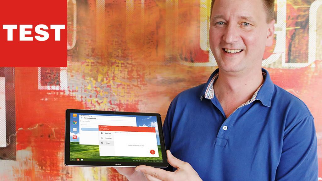 Huawei MediaPad M5 10 Pro im Test©COMPUTER BILD
