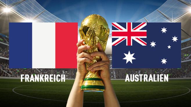 Frankreich Australien Stream