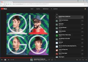 YouTube Music Webplayer