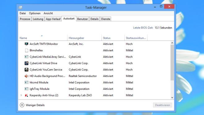 Windows-Autostart: Tools, die Microsoft zur Optimierung mitbringt©COMPUTER BILD