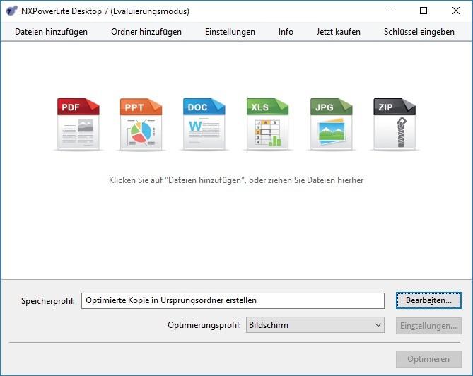 Screenshot 1 - NXPowerLite