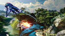 Halo 3: In den Kampfeinsätzen nutzen Sie zahlreiche Fahr- und Flugzeuge.
