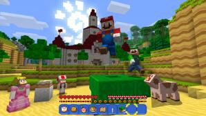Minecraft auf der Switch©Nintendo Switch