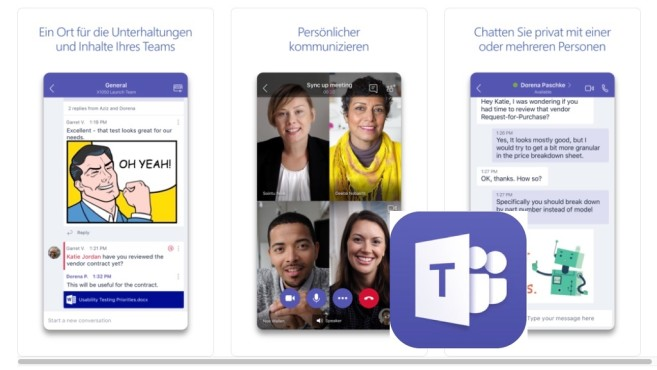 Microsoft Teams © Computerbild, Microsoft