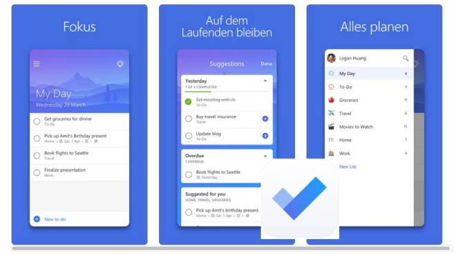 Microsoft To-Do © Computerbild, Microsoft