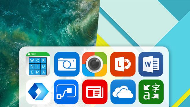 Made by Microsoft: Apps für iOS und Android©Microsoft, Apple, Google