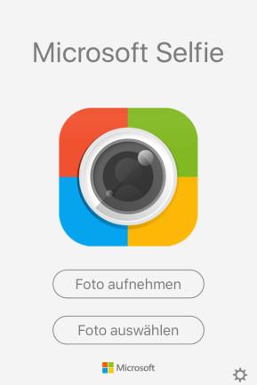Microsoft Selfie (App für iPhone & iPad)