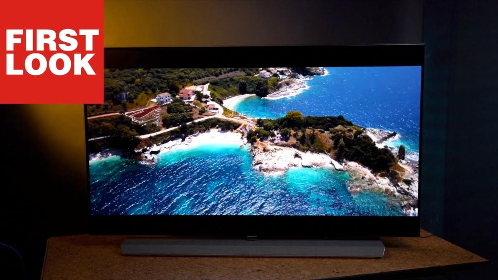 Philips Oled 973 Designer Oled Tv Im First Look Audio Video Foto Bild