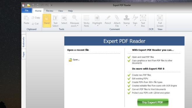 Free eXPert PDF Reader: Geöffnete PDFs komprimieren ©COMPUTER BILD