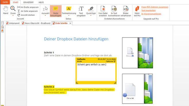 Nitro PDF Reader: PDFs betrachten ©COMPUTER BILD