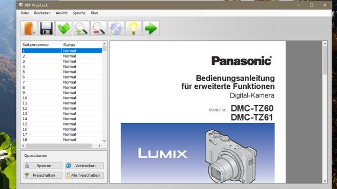 PDF Page Lock: Einzelne Dokumentseiten sperren ©COMPUTER BILD