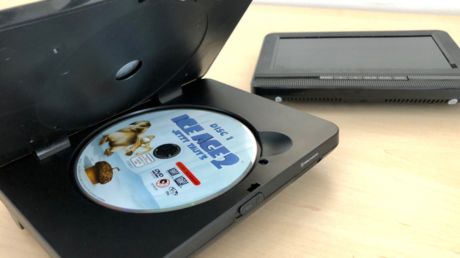 Portabler DVD-Player: Medion Life E72053 im Praxis-Test©COMPUTER BILD