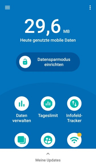 Screenshot 1 - Datally (Android-App)