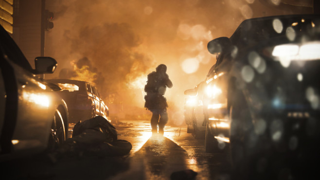 """Call of Duty – Modern Warfare: Geschichtsträchtig! In """"Call of Duty – Modern Warfare"""" spielen Sie aus der Perspektive von Elite-Einheiten und Rebellen.©Activision"""