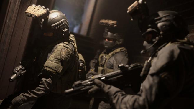Call of Duty – Modern Warfare: Geschichtsträchtig! Klopf, Klopf – jemand zu Hause?©Activision