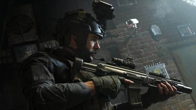"""Call of Duty – Modern Warfare: Geschichtsträchtig! Mit Nachtsichtgerät und High-Tech-Waffen ausgestattet – """"Modern Warfare"""" eben.©Activision"""