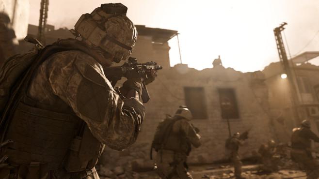 Call of Duty – Modern Warfare: Geschichtsträchtig! Viel Zeit wurde, laut Infinity Ward, auf die Levelbelichtung aufgewendet.©Activision