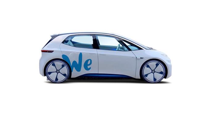 Volkswagen I.D. für VW We Carsharing©VW