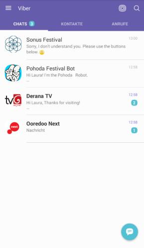 Viber Messenger (Android-App)
