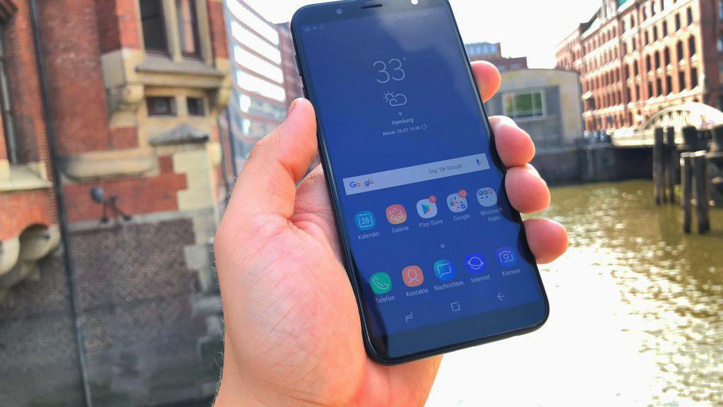 Samsung Galaxy J6 Test Infos Preis Release Kauf Computer Bild