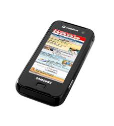 Vodafone bringt mit dem Samsung F700 einen iPhone-Rivalen in den Handel