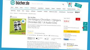 Hörbuch-Schnäppchen©Screenshot www.buecher.de