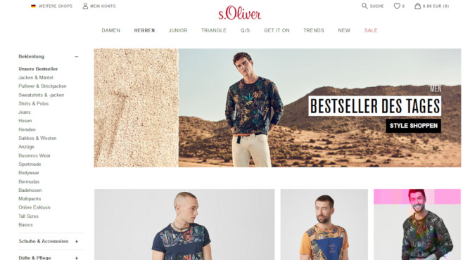 low priced d3c9a 8e15c s.Oliver: Cashback-Aktion im Online-Shop - COMPUTER BILD