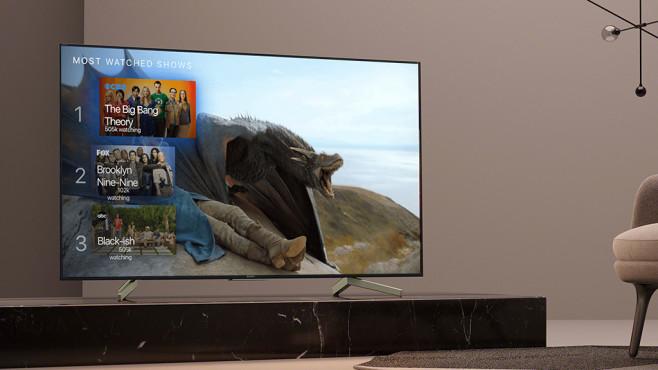 Sony Android Fernseher einrichten: Vorsicht vor der Samba TV App! Die Samba Interactive TV App verspricht maßgeschneiderte Empfehlungen und spioniert dafür das Nutzerverhalten aus.©Sony, Samba