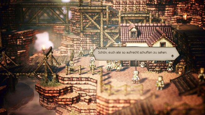 Octopath Traveler © Square Enix