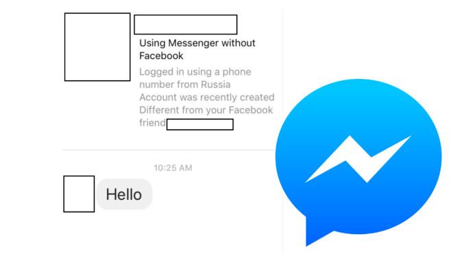 Neue Sicherheitsfunktionen für den Facebook Messenger©Motherboard, Facebook