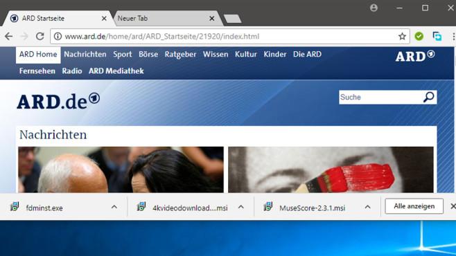 Google Chrome: Lesezeichen-Leiste ausblenden – funktioniert nicht!©COMPUTER BILD