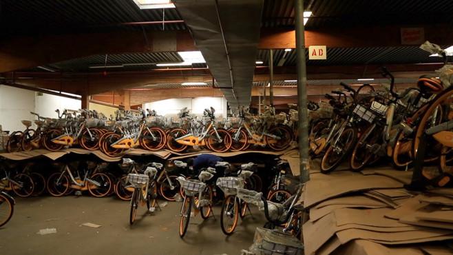 Leihfahrräder von Obike©Obike