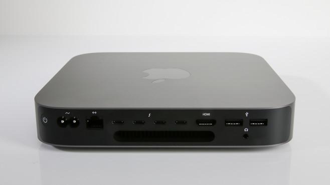 Apple Mac mini 2018 Anschlüsse©COMPUTER BILD