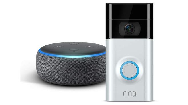 Echo Dot mit Ring Video Doorbell 2©Amazon