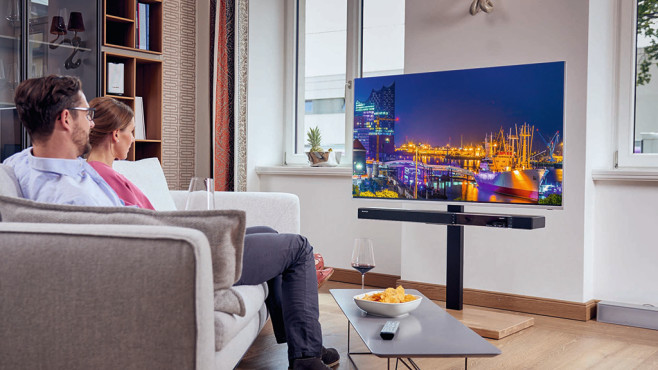 technisat sonata 1 das soundbar multitalent audio video. Black Bedroom Furniture Sets. Home Design Ideas