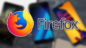 Mozilla-Logo vor Smartphones©Computerbild / Mozilla (Montage)