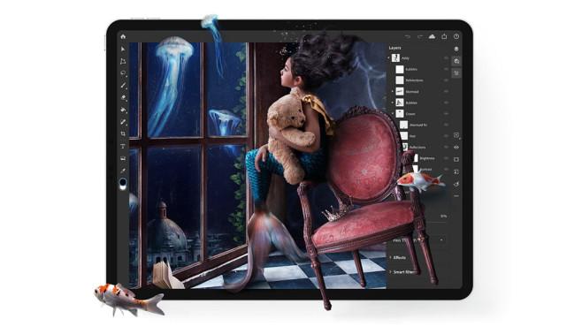 Adobe Photoshop für iPad©Adobe