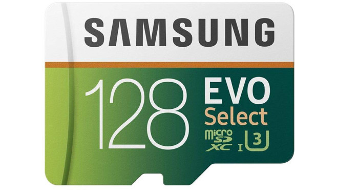 Samsung MB-ME128GA/EU Speicherkarte EVO Select microSDXC 128 GB©Amazon