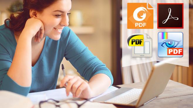 Die besten PDF-Reader und PDF-Viewer: PDF öffnen Bei PDFs verhält es sich wie mit dem Geld: Brauchen Sie nicht unbedingt, aber alle anderen setzen darauf – also muss man mitmachen, benötigt passende Software.©istock/elenaleonova, Adobe etc