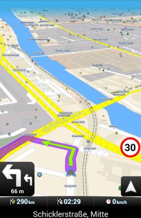 MapFactor GPS Navigation Maps (App für iPhone & iPad)