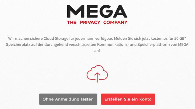 Logo von Mega – The Privacy Company©Mega
