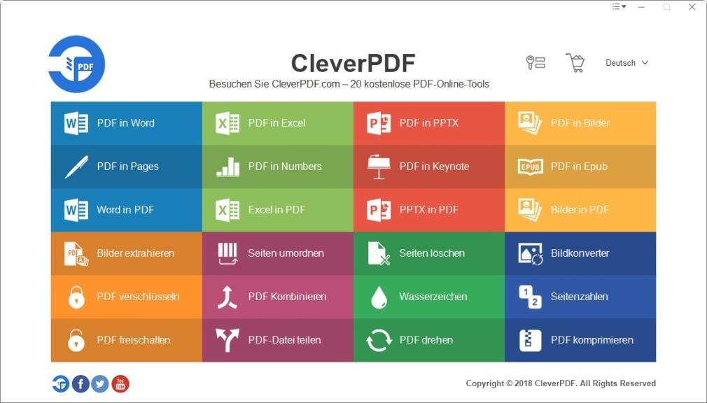 Screenshot 1 - CleverPDF
